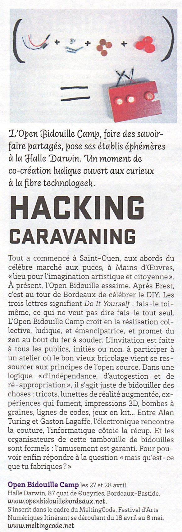 HACKING-CARAVANING