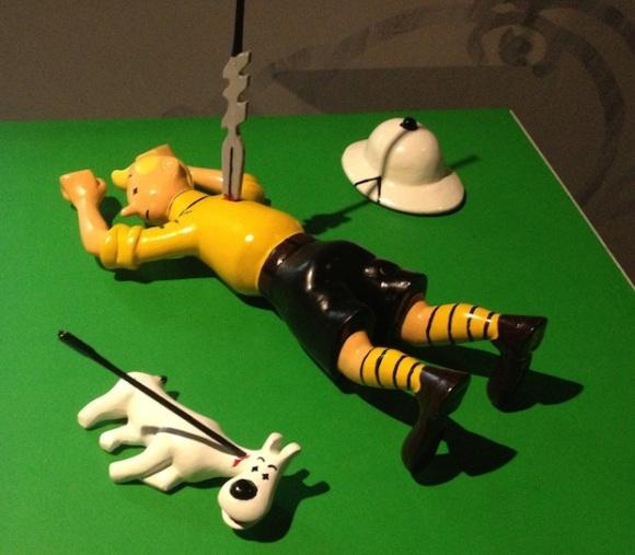 Dead Tintin