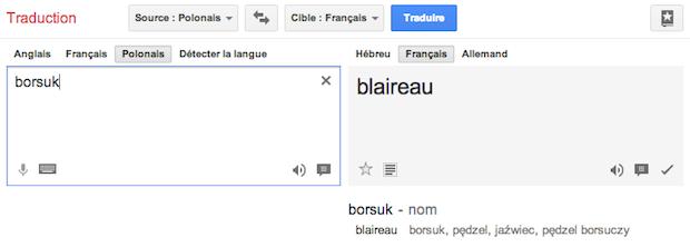 Borsuk-Blaireau