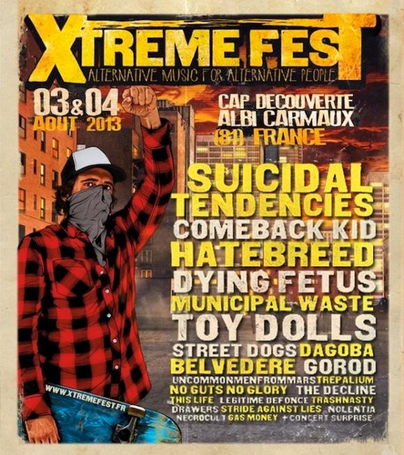 XTREME FEST AFFICHE