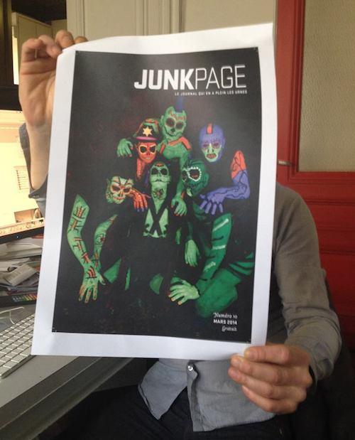 JUNKPAGE_couv_mars20500 - copie