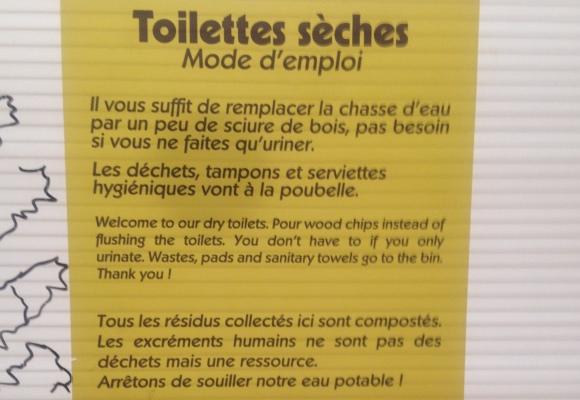 TOILETTES SECHES - GANDOUSIERS