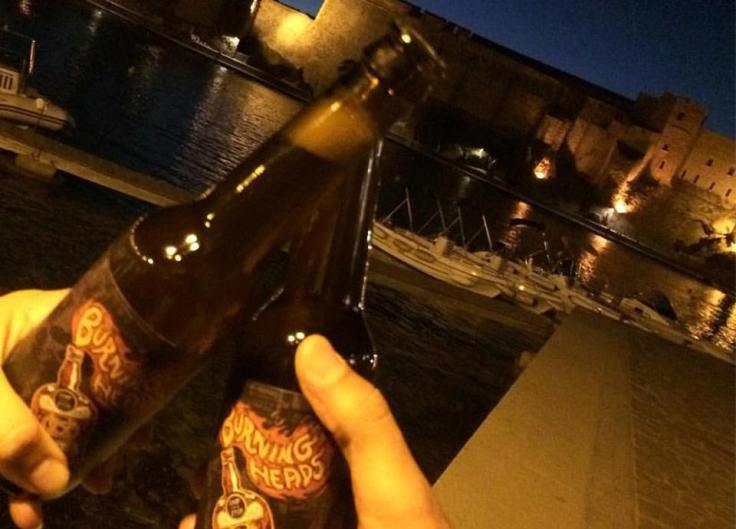 BURNING BEERS AVEC LUCIE A COLLIOURE