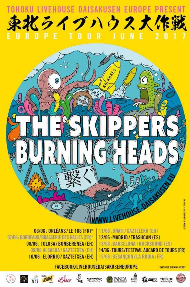 2017 SKIPPERS BURNING HEADS