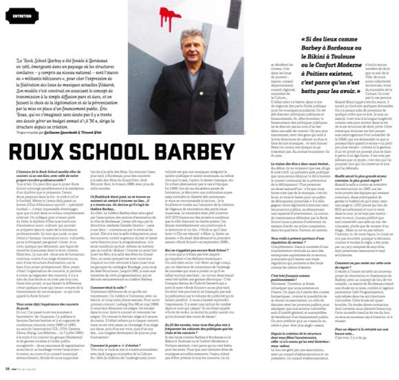 Roux School Barbey Junkpage