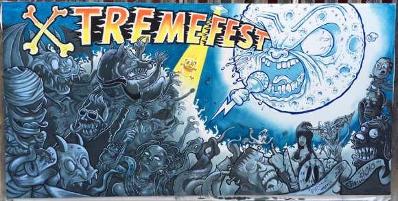 Fresque Xtremefest